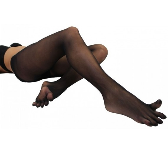 ToeToe Plain Nylon Tights Sort