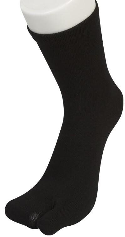 """Sorte Two Socks """"Lomme"""" til storetå-20"""