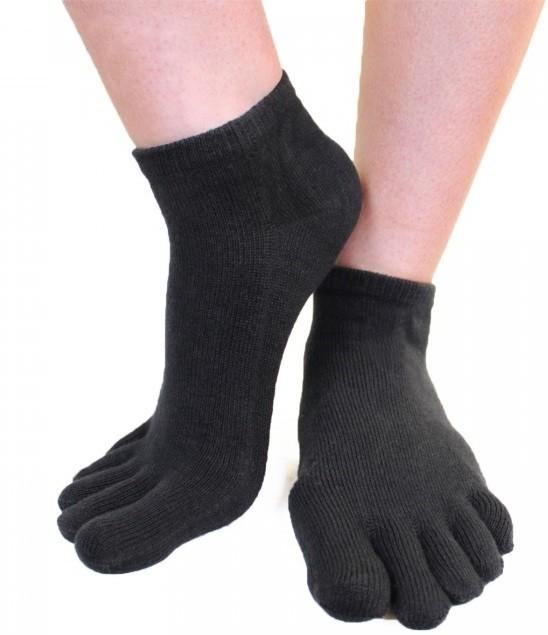 Ankel Tåsokker, ToeToe Essential Anklet Sort-20