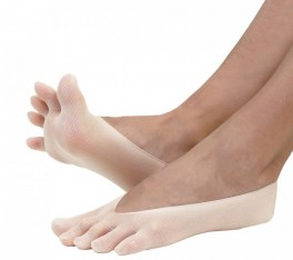 ToeToe Nylon Foot Cover Beige