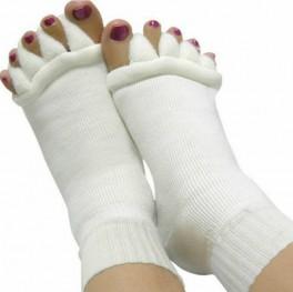 Yogasleep - Tåjusterings-tåsokker - Hvid